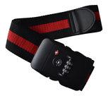 TSA-kofferriem-zwart-rood